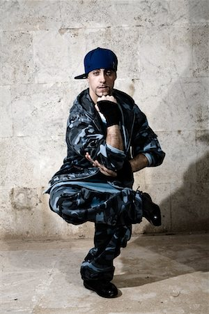 Male Hip Hop Dancer Posing Stock Photo - Rights-Managed, Code: 700-02063817