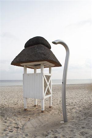Shower and Changing Room on Beach Schleswig-Holstein, Germany Stock Photo - Rights-Managed, Code: 700-02071351