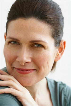 Portrait of Woman Stock Photo - Rights-Managed, Code: 700-02071545