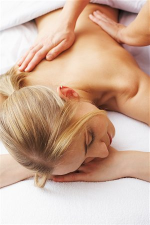 rehabilitation - Woman Getting Massage Stock Photo - Rights-Managed, Code: 700-02071801
