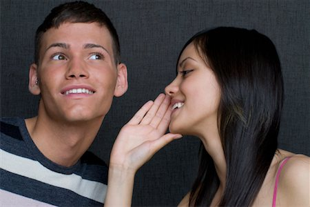 People Telling Secrets Stock Photo - Rights-Managed, Code: 700-02080502