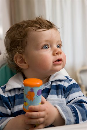 Toddler in Highchair Stock Photo - Rights-Managed, Code: 700-02080567