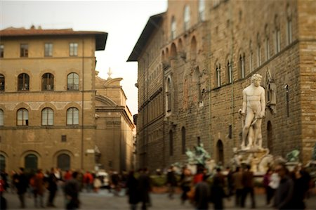 Piazza della Signoria, Florence, Italy Stock Photo - Rights-Managed, Code: 700-02080756