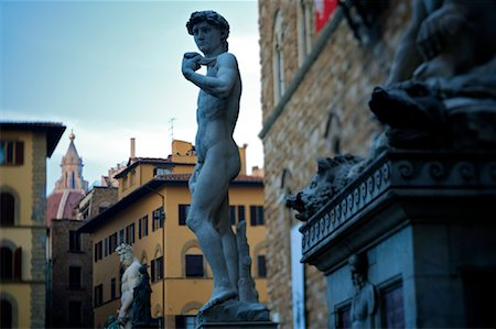 statue of david - Michelangelo's David, Florence, Italy Stock Photo - Rights-Managed, Code: 700-02080757
