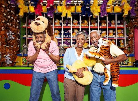 People at Amusement Park, Santa Monica Pier, Santa Monica, California, USA Stock Photo - Rights-Managed, Code: 700-02125371