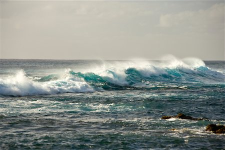Waves, Easter Island, Chile Stock Photo - Rights-Managed, Code: 700-02128895
