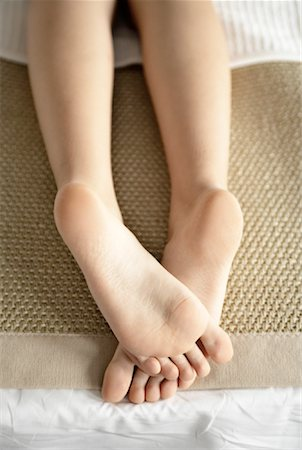 Close-up of Woman's Feet Stock Photo - Rights-Managed, Code: 700-02121347