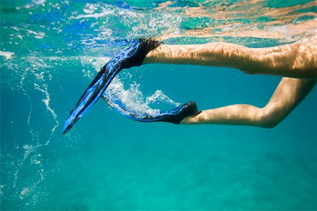 Woman Snorkeling Stock Photo - Rights-Managed, Code: 700-02123751
