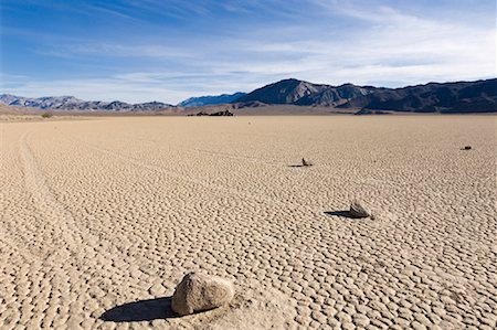 Racetrack Playa, Death Valley, California, USA Stock Photo - Rights-Managed, Code: 700-02130879