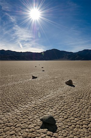 Racetrack Playa, Death Valley, California, USA Stock Photo - Rights-Managed, Code: 700-02130881