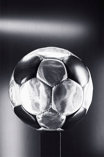 Soccer Ball Stock Photo - Premium Rights-Managed, Artist: photo division, Image code: 700-02159111