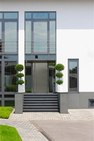 Front Entrance of Home Stock Photo - Rights-Managed, Code: 700-02159120
