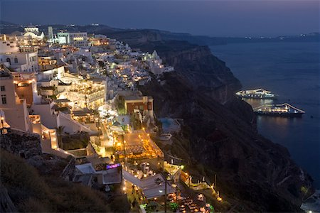Thira, Santorini, Greece Stock Photo - Rights-Managed, Code: 700-02176098