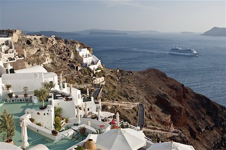 Oia, Santorini, Greece Stock Photo - Rights-Managed, Code: 700-02176099