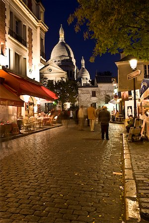 Montmartre, Paris, France Stock Photo - Rights-Managed, Code: 700-02176091