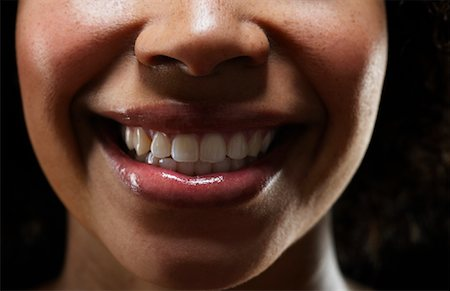 Close-Up of Woman's Mouth Stock Photo - Rights-Managed, Code: 700-02199933