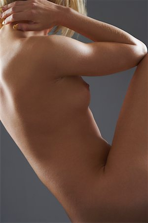 Side View of Nude Woman Stock Photo - Rights-Managed, Code: 700-02200026