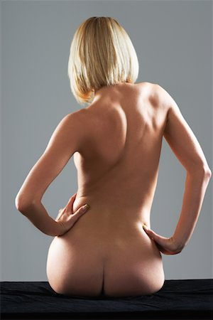 Back of Nude Woman Stock Photo - Rights-Managed, Code: 700-02200023