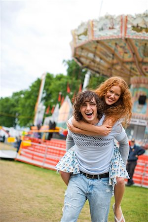 Teenage Couple at Carnival Stock Photo - Rights-Managed, Code: 700-02200330