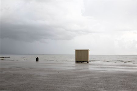 Dressing Hut on Beach, Galveston, Texas, USA Stock Photo - Rights-Managed, Code: 700-02200618