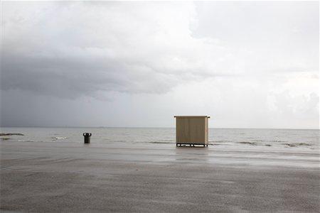 Dressing Hut on Beach, Galveston, Texas, USA Stock Photo - Rights-Managed, Code: 700-02200618