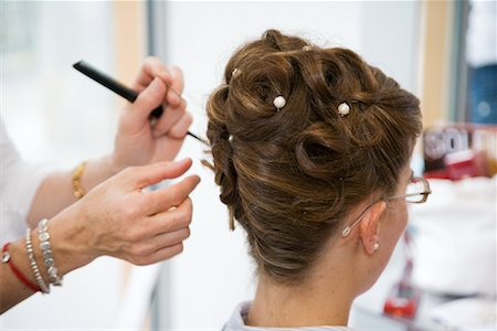 Woman at Hairdresser Stock Photo - Rights-Managed, Code: 700-02200803