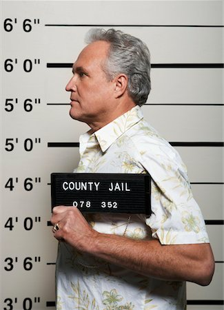 Mug Shot of Man Stock Photo - Rights-Managed, Code: 700-02201309