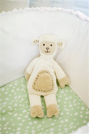 Baby's Toy in Bassinet Stock Photo - Rights-Managed, Code: 700-02216100