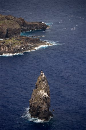 Rock Formations in Ocean Viewed From Orongo, Easter Island, Chile Stock Photo - Rights-Managed, Code: 700-02217137