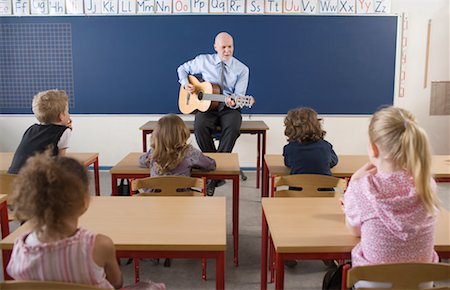 Teacher and Students in Classroom Stock Photo - Rights-Managed, Code: 700-02217454