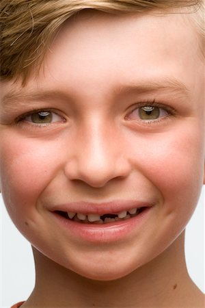 Boy with Missing Tooth Stock Photo - Rights-Managed, Code: 700-02222898
