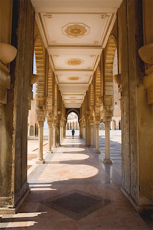 Portico of Hassan II Mosque, Casablanca, Morocco Stock Photo - Rights-Managed, Code: 700-02245141