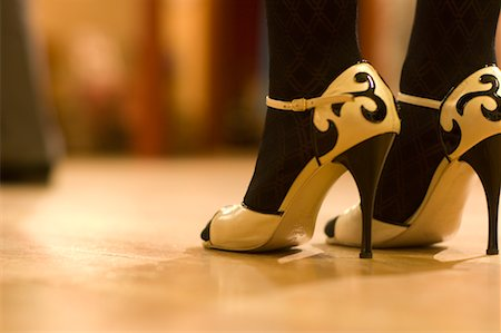stocking feet - Close-Up of Dancer's Shoes, Portland, Oregon Stock Photo - Rights-Managed, Code: 700-02265187