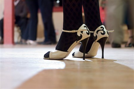 stocking feet - Close-Up of Dancer's Shoes, Portland, Oregon Stock Photo - Rights-Managed, Code: 700-02265188