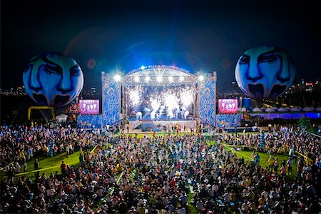 stage show - Crowd at Summer Festival, Seoul, South Korea Stock Photo - Rights-Managed, Code: 700-02289705