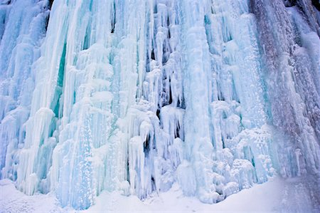 Frozen Waterfall, Gaspasie, Quebec, Canada Stock Photo - Rights-Managed, Code: 700-02289749
