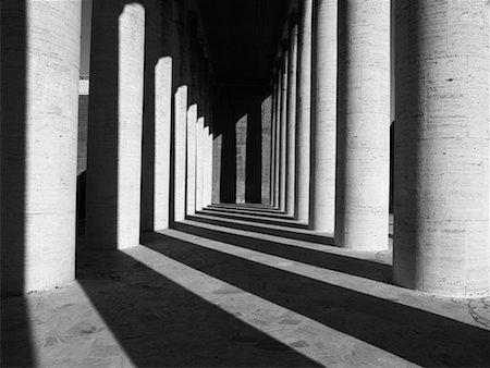 Columns, Esposizione Universale Roma, Rome, Italy Stock Photo - Rights-Managed, Code: 700-02315050
