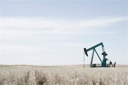Oil Drill in Field, Alberta, Canada Stock Photo - Rights-Managed, Code: 700-02332741