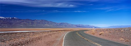 State Route 190, Death Valley, California, USA Stock Photo - Rights-Managed, Code: 700-02345965