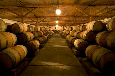 Wine Cellar in Maipo Valley, Santiago, Talagante, Chile Stock Photo - Rights-Managed, Code: 700-02348345