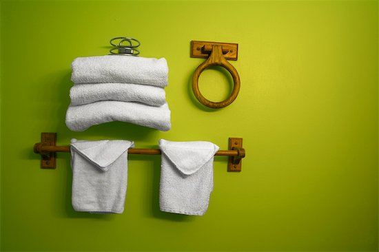 Folded Towles in Bathroom Stock Photo - Premium Rights-Managed, Artist: Eric Schmidt, Image code: 700-02348769