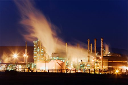 Petroleum Refinery at Mossel Bay, Western Cape, South Africa Stock Photo - Rights-Managed, Code: 700-02377258