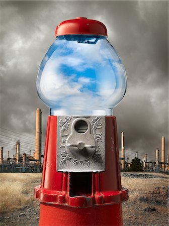 poison - Clean Air in Gumball Machine by Factory Stock Photo - Rights-Managed, Code: 700-02377618