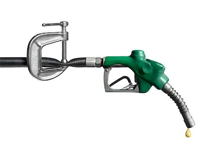 Clamped Gas Hose Stock Photo - Rights-Managed, Code: 700-02377626