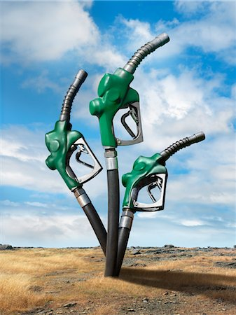 Oil Pumps in Desert Stock Photo - Rights-Managed, Code: 700-02377623