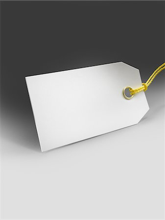 Blank Price Tag Stock Photo - Rights-Managed, Code: 700-02377644