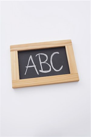 slate - Close-up of Chalkboard Stock Photo - Rights-Managed, Code: 700-02371503