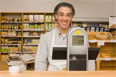 Portrait of Grocer Stock Photo - Rights-Managed, Code: 700-02428710