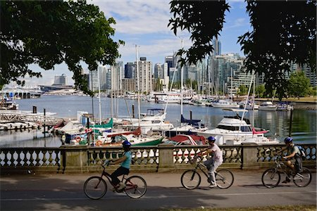 Stanley Park, Coal Harbour, Vancouver, British Columbia, Canada Stock Photo - Rights-Managed, Code: 700-02519103