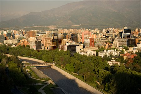 Overview of Santiago, Chile Stock Photo - Rights-Managed, Code: 700-02594246